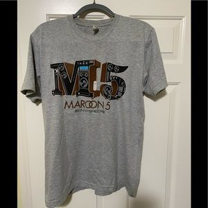 Other - Maroon 5 band concert tour shirt M